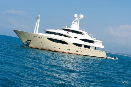 Luxury yacht  Sardinia, Italy Stock Photo - 14748508