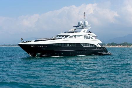 Luxury yacht  Sardinia, Italy