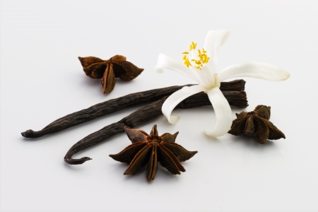 Vanilla, anise, flower photo