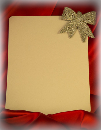 lurid: fiery-red background for congratulations on Christmas and New Year with different toys Stock Photo