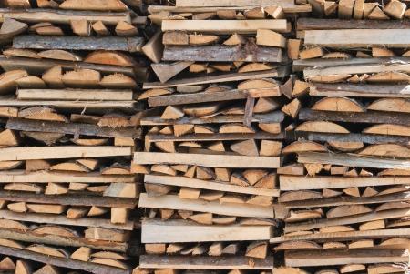 economise: firewood