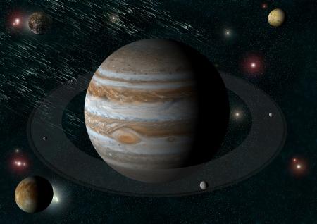 j�piter: J�piter y las lunas de lo s