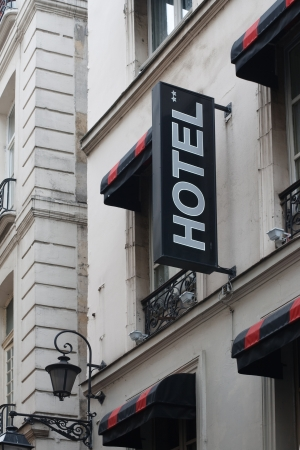 Hotel in Paris Stock Photo - 16519272