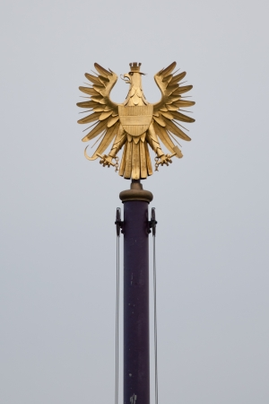 crown spire: coat of arms of Vienna
