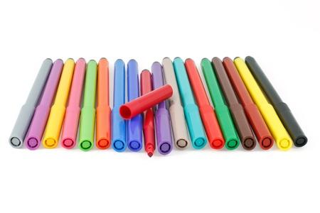 felt: felt pen color