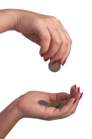 money hands photo