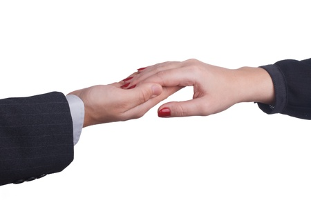 gentle touch of hands Stock Photo - 17723786