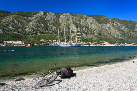 Travel by sea or by land? Sailboat or a bike? the choice is yours! photo
