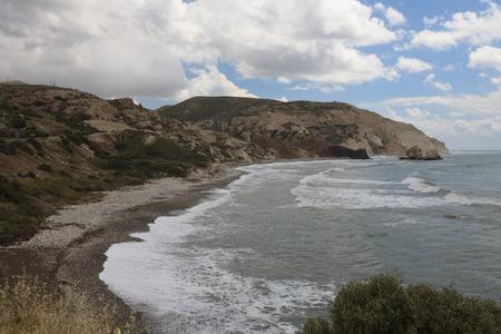 afrodita: La vida silvestre Chipre. Ver en la roca de Afrodita