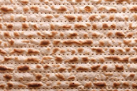 matzah: Traditional Jewish matzah kosher macro horizontal background