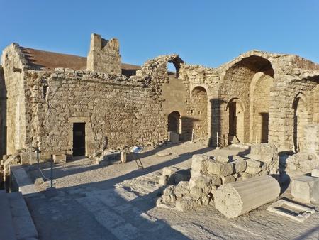 lindos: Ancient Ruins Lindos - Rodhes