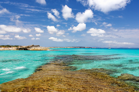 Spain - Formentera, beach es calo  photo