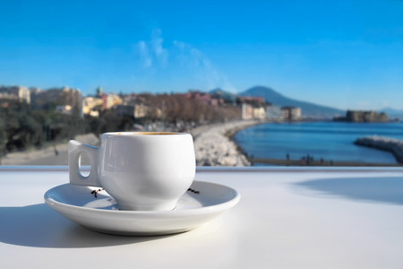 real espresso with the view