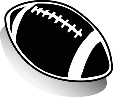 nfl: Rugby ball Illustration