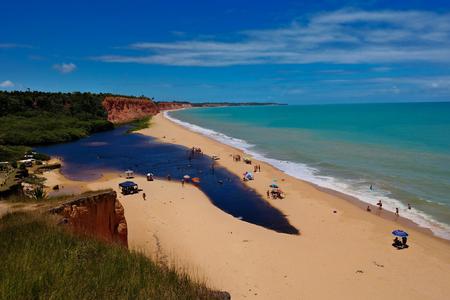 Japara Grande strand Stockfoto
