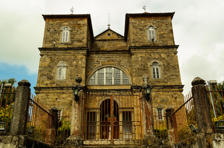 Stone church Imagens