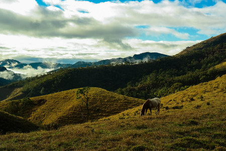 Visconde de Maua hills