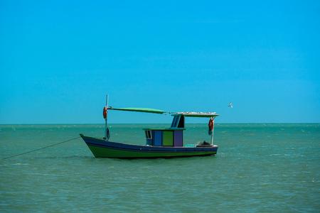 The Boat on coast