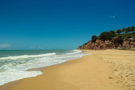 A beautiful beach of Prado: Oyster Beach - Bahia - Brazil Banco de Imagens - 104287425