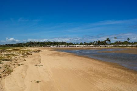 Guaratiba Beach landscape (Landscape of Guaratiba Beach) Banco de Imagens - 104287430
