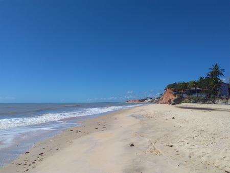 Passion's Beach in Prado - Bahia - Brazil Banco de Imagens - 104398777