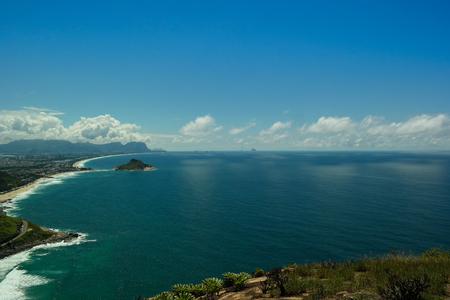 Rio de Janeiros landscape (The beauties of Rio de Janeiro) Stock Photo