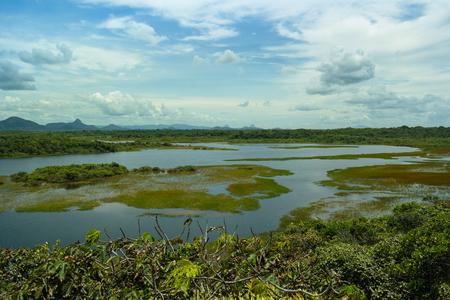 Lake and landscape panoramic (Cara?s lagoon)