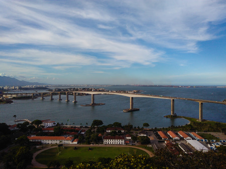 The city view (Great Vitoria and the Third Bridge)