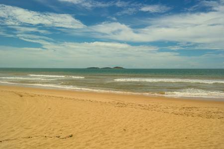 Desert beach (Setiba's beach in Guarapari's park)