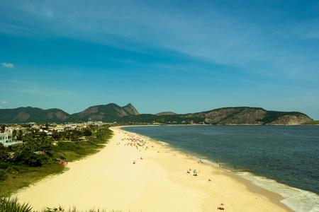 A beautiful beach in Rio de Janeiro (Camboinhas beach) Imagens