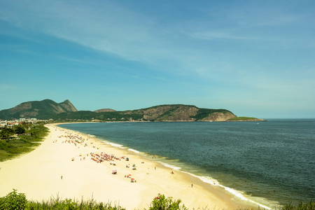 Camboinhas beach a beautiful one in Rio de Janeiro Stock Photo