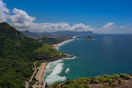 Beautiful landscape of Rio de Janeiro (Beach of Rio de Janeiro view)