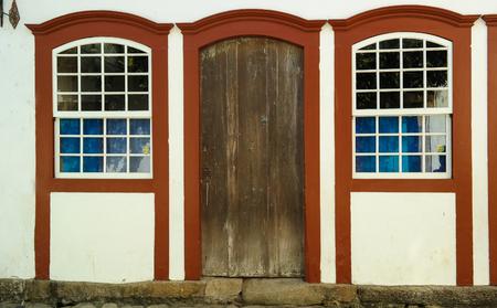 Ancient window and door