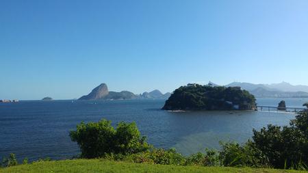 Sun, island and beautifil afternoon Banco de Imagens