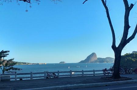 Sea and landscape Banco de Imagens