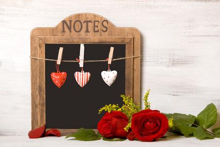 """Blackboard with writing  """"On February 14, Valentine Zdjęcie Seryjne"""