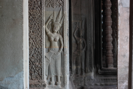 reap: Angkor Wat  Siem Reap Cambodia Stock Photo