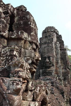 reap: Bayon Temple in Angkor Siem Reap Cambodia