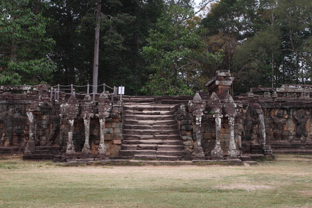 Terrace of Elephants Angkor Thom Siem Reap Cambodia
