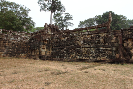 siem: Terrace of Elephants Angkor Thom Siem Reap Cambodia