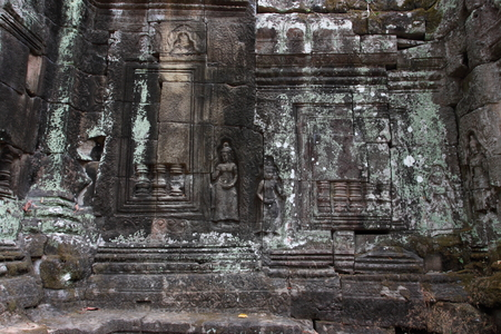 khan: Preah Khan Temple in Angkor Siem Reap Cambodia