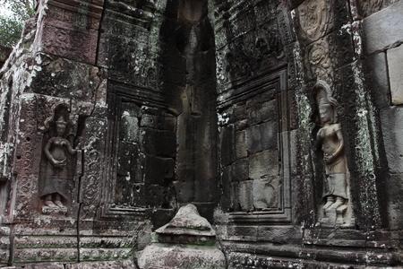 ta: Banteay Kedi Temple in Angkor Siem Reap Cambodia
