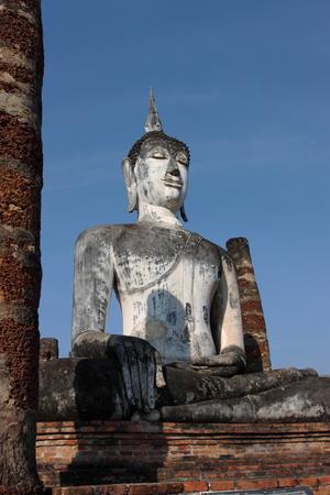 historical: Sukhothai Historical Park Thailand Stock Photo