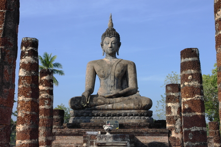 sukhothai: Sukhothai Historical Park Thailand Stock Photo