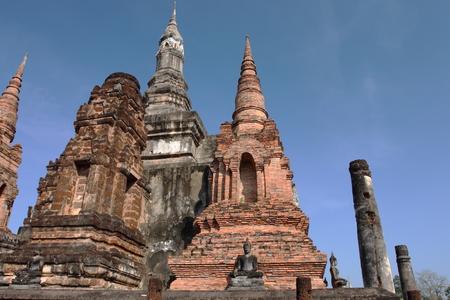 historische: Sukhothai historische Park Thailand Stockfoto