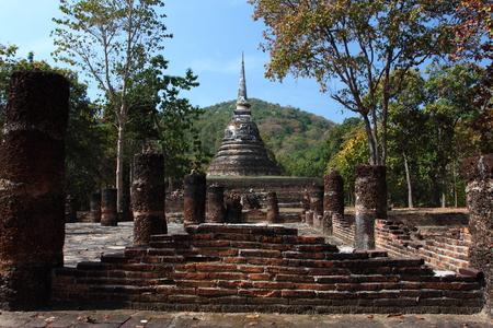 bon: Wat Tham Hip Bon Sukhothai Historical Park Thailand