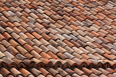 Roofing tile at Galle Sri Lanka