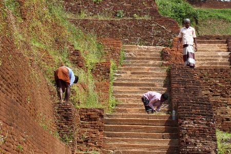 sigiriya: Sigiriya worker
