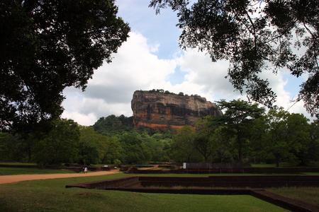 sigiriya: Sigiriya palace ruins are  in Sri Lanka