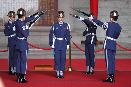 shift: Honor Guards changing shift Editorial